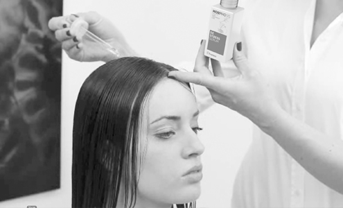 preparare capelli sposa