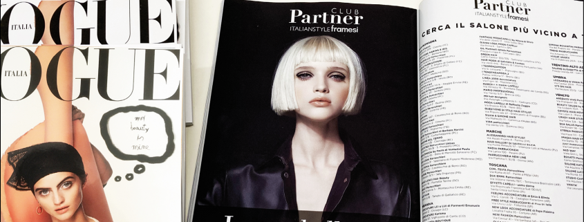Partner Club su Vogue Italia